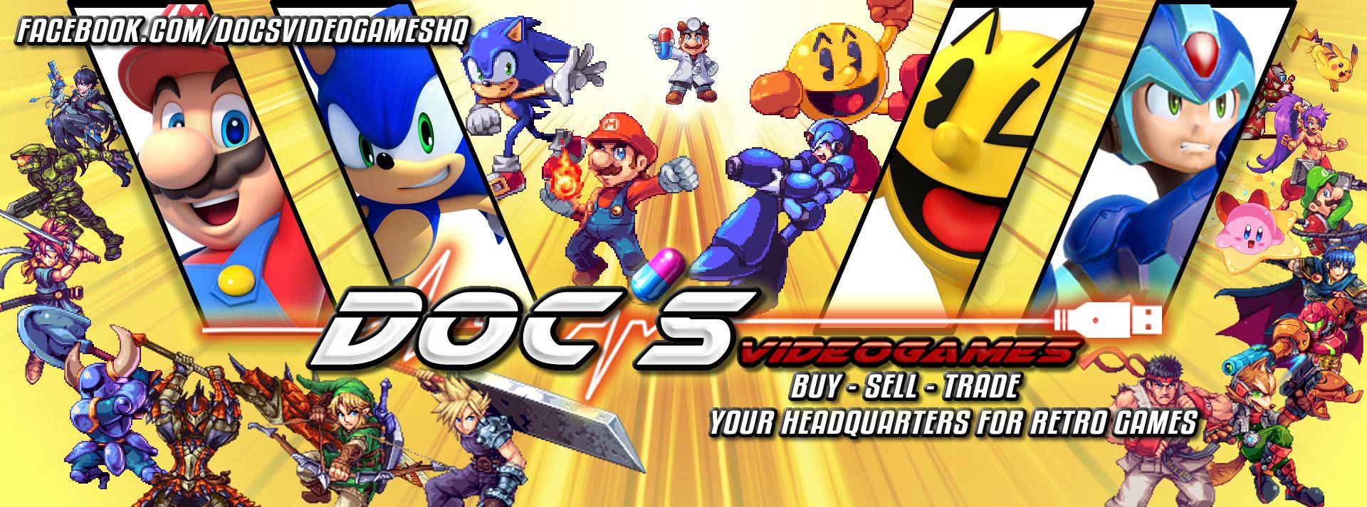 Docs Video Games - Doc's video games