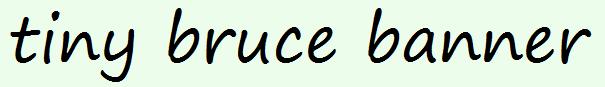 tiny bruce banner