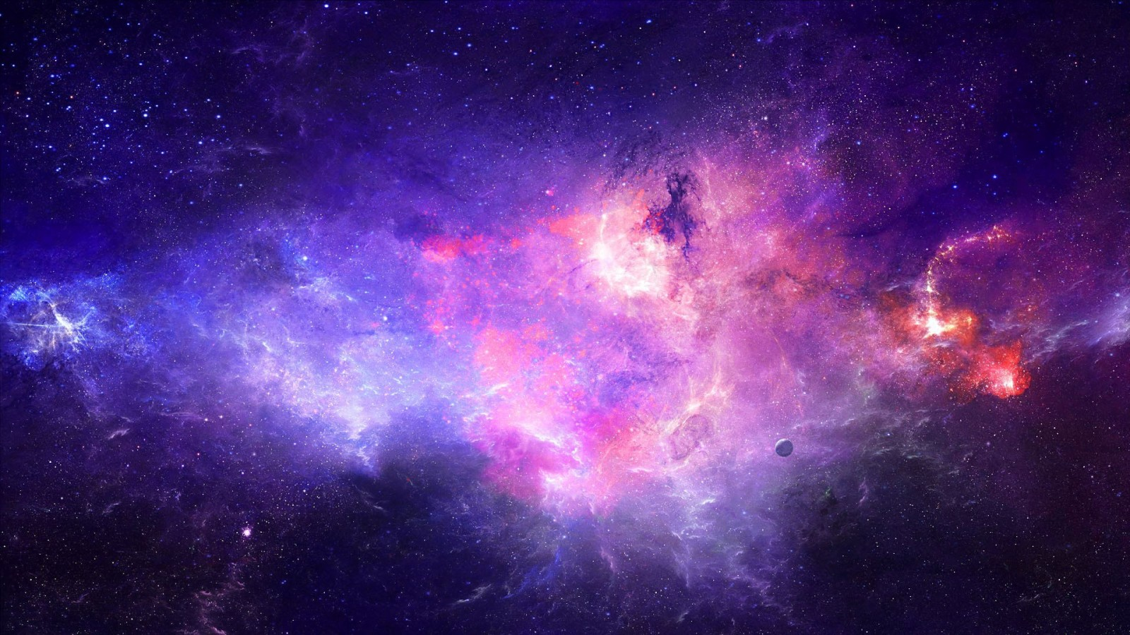 colorful galaxy view hd - photo #6