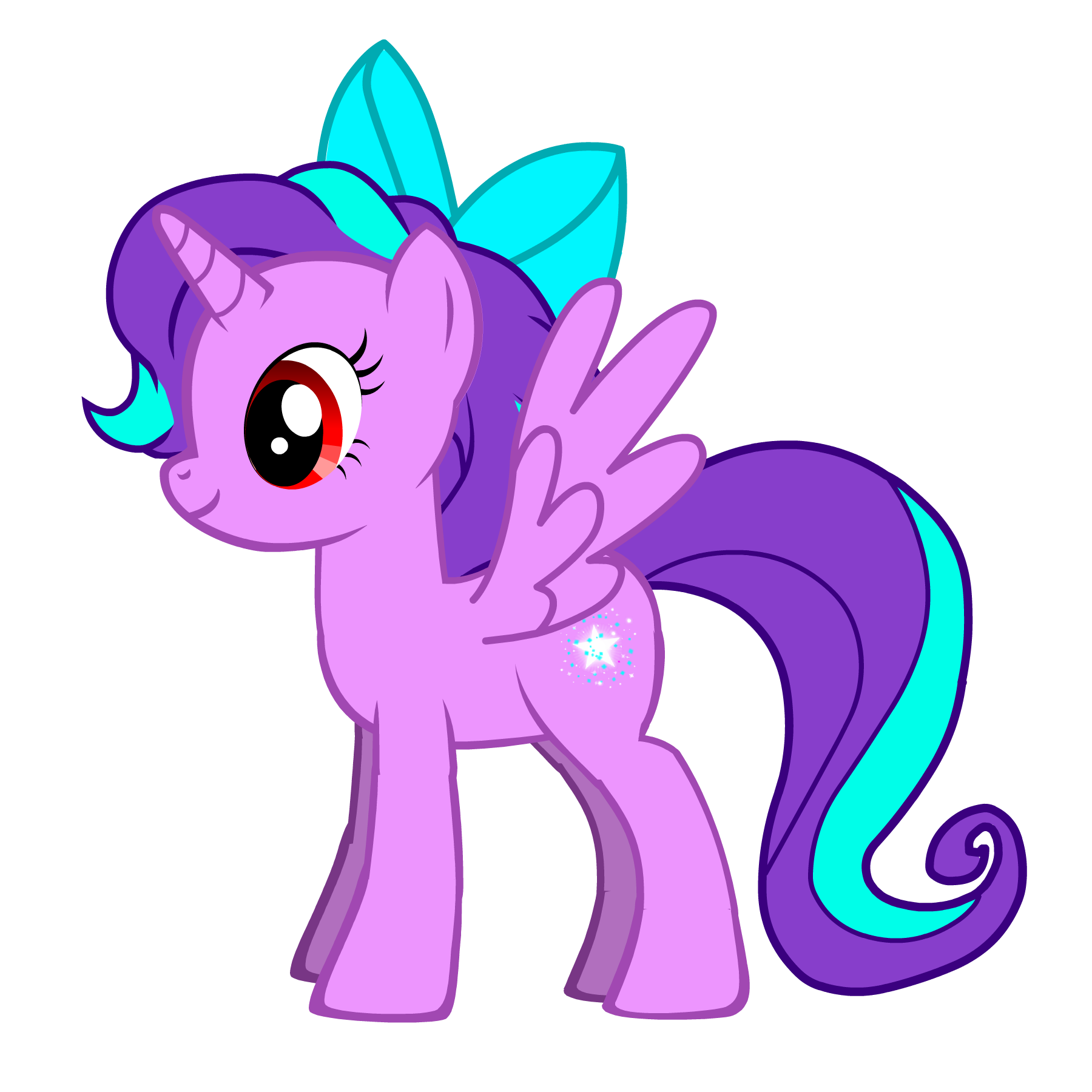 Download Wallpaper Horse Cartoon - tumblr_static_evening-starlite-my-little-pony-fim-fan-characters-27972207-1800-1800  HD_82591.png