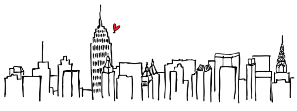 Line Drawing Nyc : Follow your dreams ☮∞