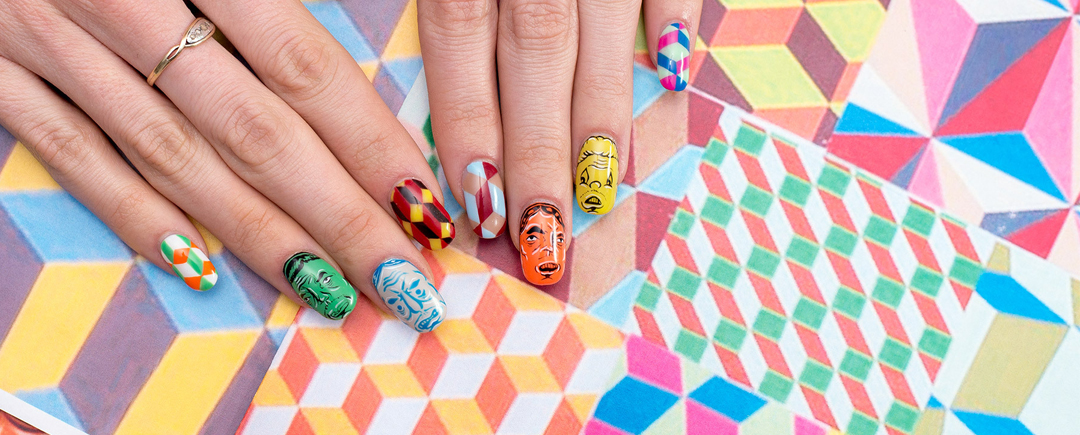 Nail art history prinsesfo Images