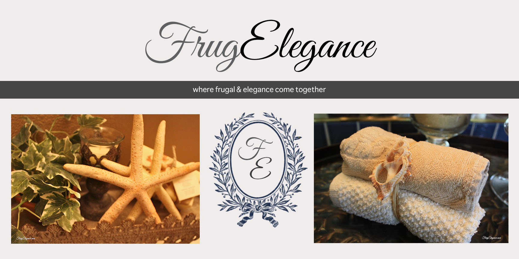 FrugElegance: The Home Decor Blog where frugal & e