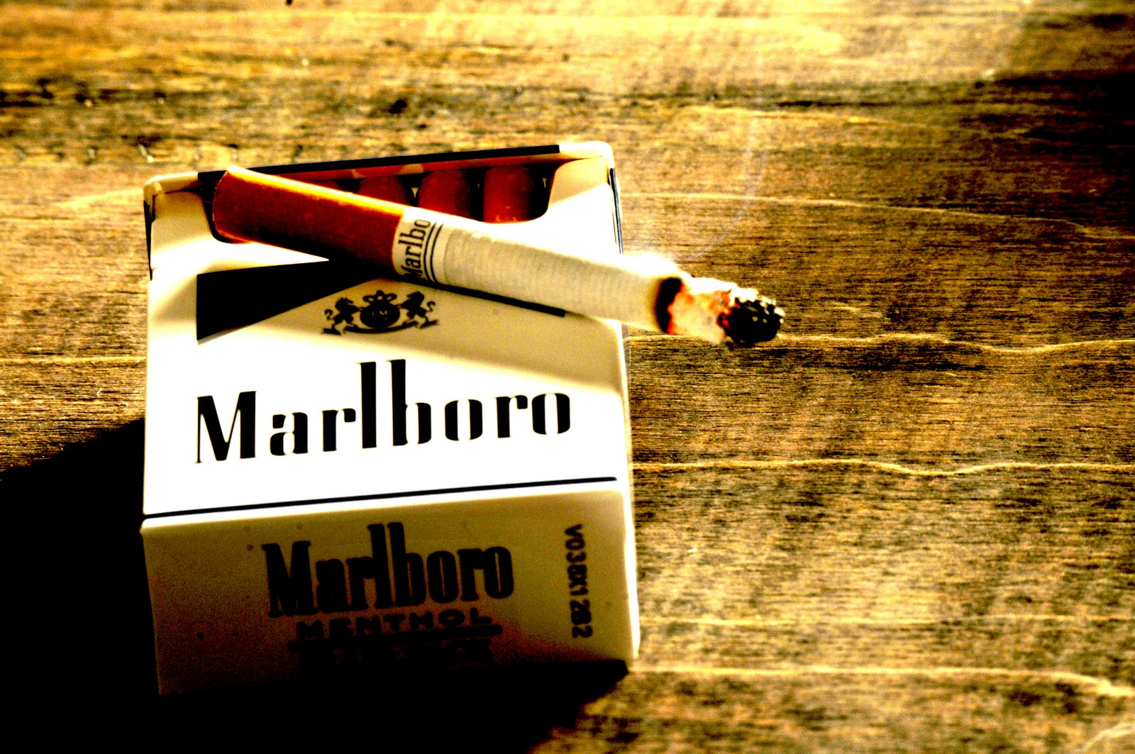 Smoker In The Dark