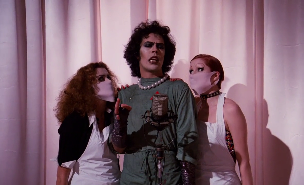 a review of the rocky horror picture show a cult movie Parents need to know that the rocky horror picture show is a 1975 cult classic movie in which two square sweethearts spend the night in the castle of a transvestite scientist this movie is based upon complex adult themes of sexuality and personal freedoms/lifestyles.