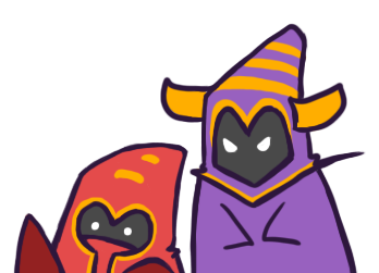 Ask Purple Caster Minion and Red Caster M!