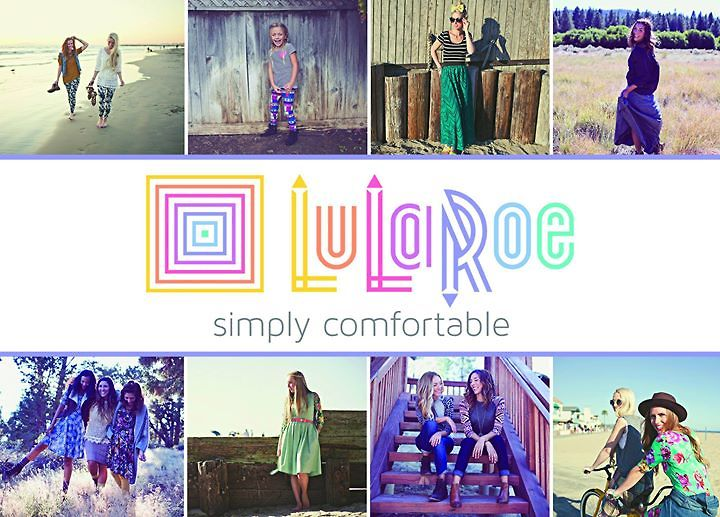 this is how i roe just thinking how much we love the new lularoe