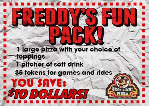 Pizza Freddy Logo Fazbears