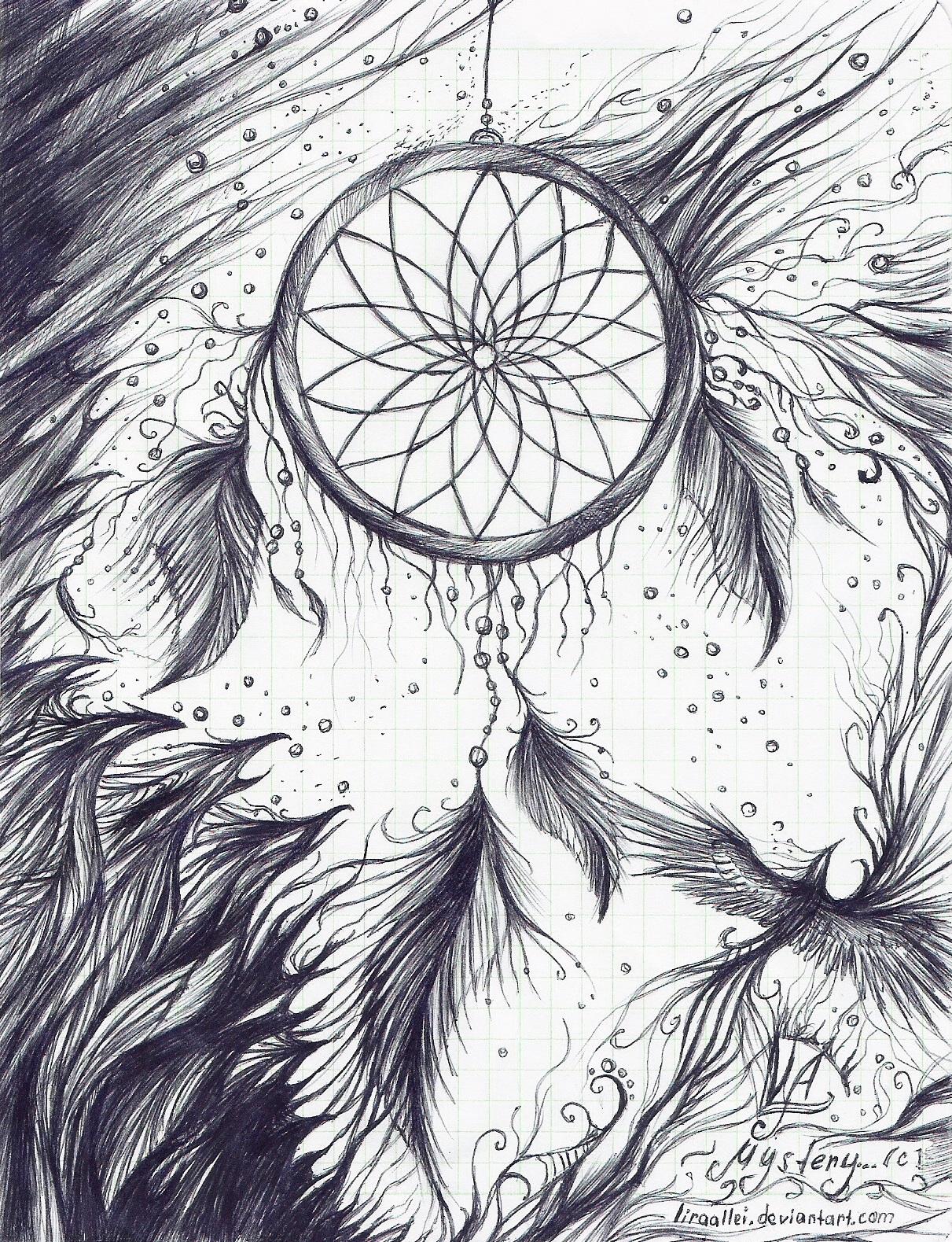 комфортная картинки ловитель снов карандашом отвезёт цветы