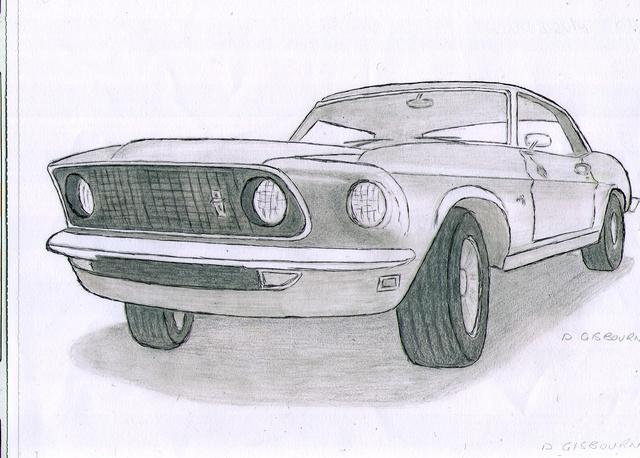 Classic Car Drawing Tumblr