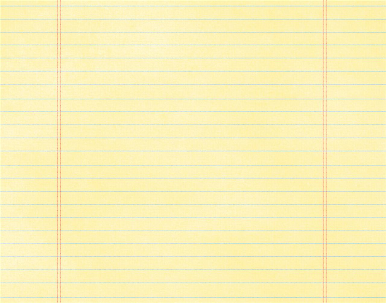 Yellow Notebook Paper Background Back To School Notebook Paper – Yellow Notebook Paper Background