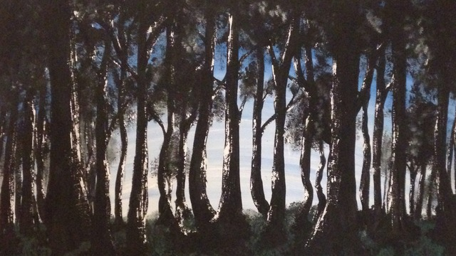 Resultado de imagen de girl in forest tumblr