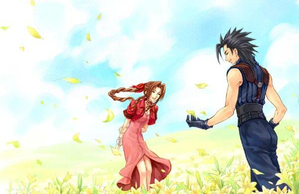 aerith and zack relationship