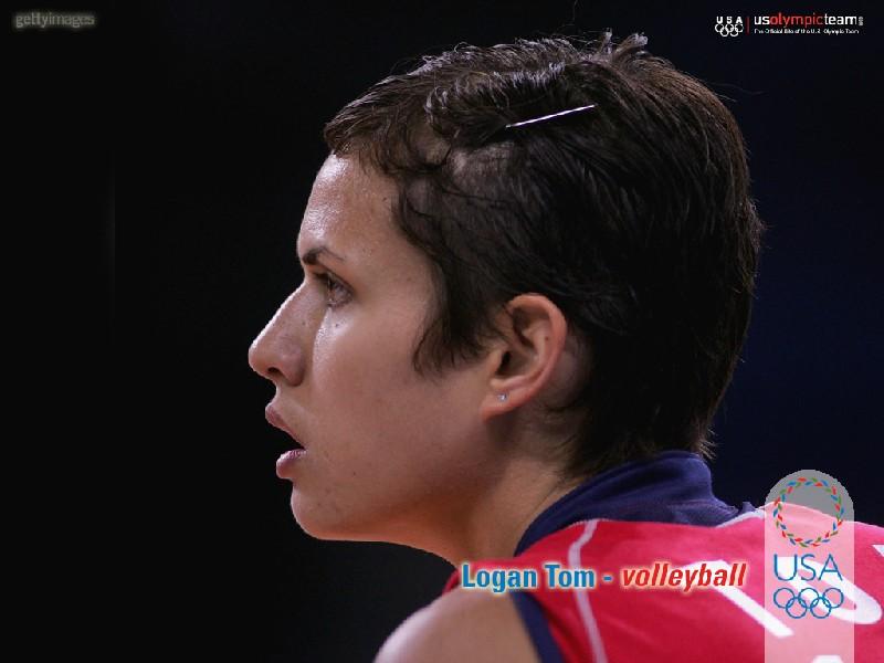 Logan tom volleyball player