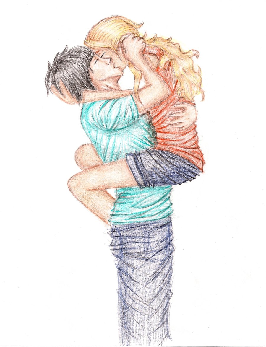 Percy and Annabeth http://chuvade-sonhos.tumblr.com/