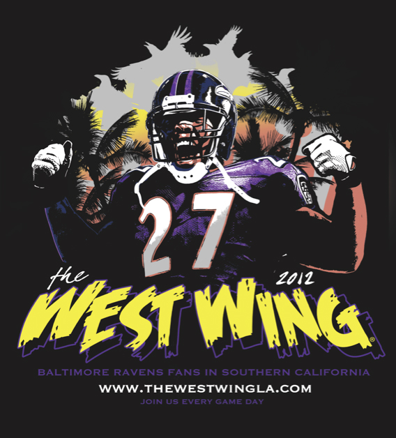 The West Wing - Baltimore Ravens fans in SoCal