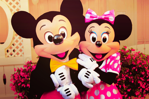Mickey and minnie disneyland