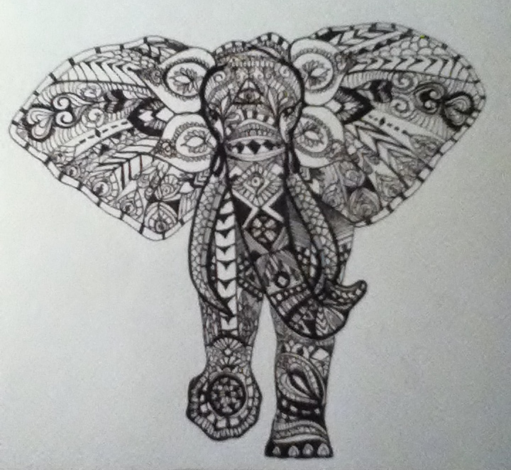 Elephant Drawing Tumblr Pics Download