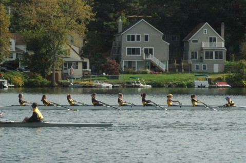 Rowing, Rowing, and More Rowing