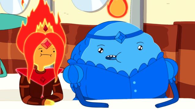 Is flame princess dating cinnamon bun french