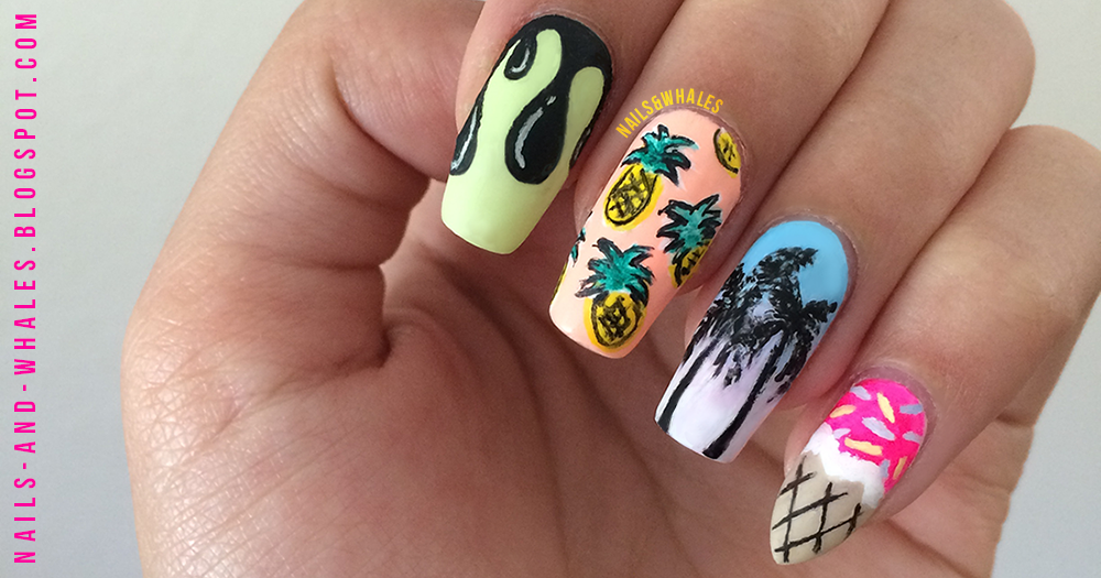 Nails whales im bethany an aspiring nail blogger from california lover of neuroscience oceanography and nail art hence nails whales original nail art tagged prinsesfo Choice Image