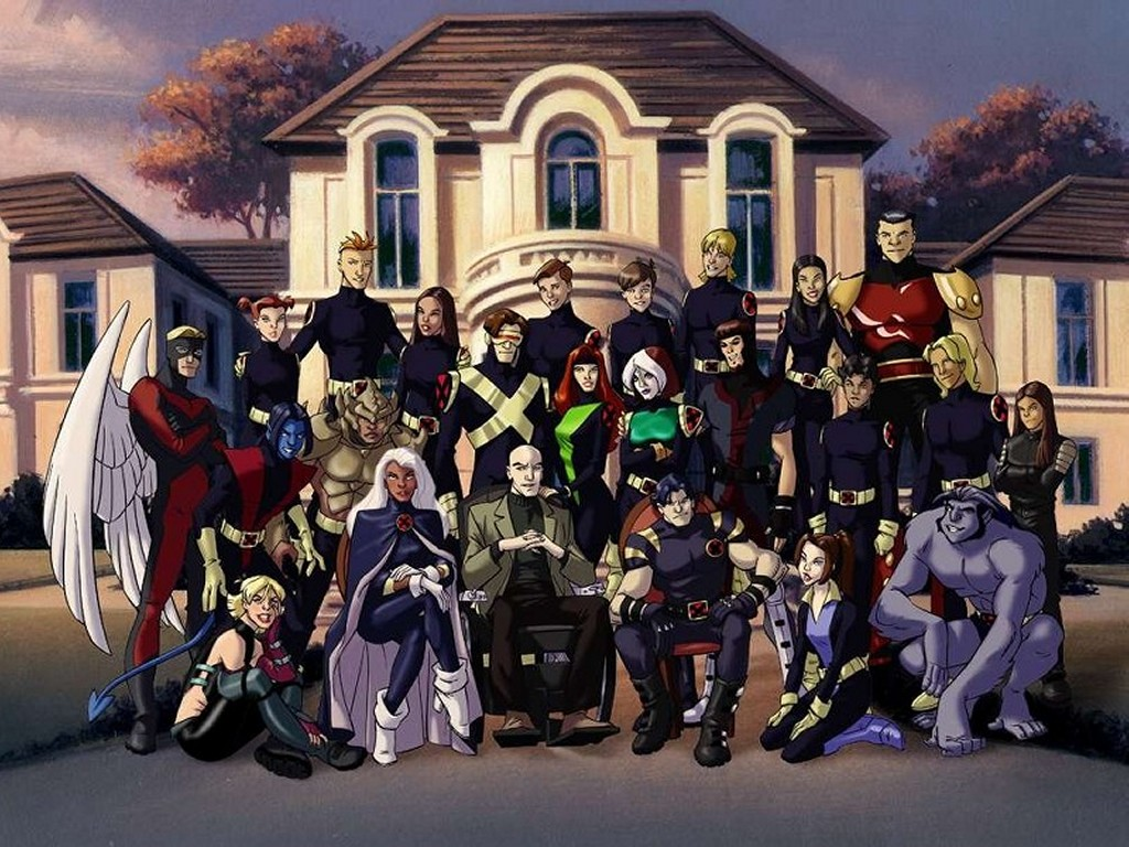 X-Men Evolution RPX Men Evolution Villains