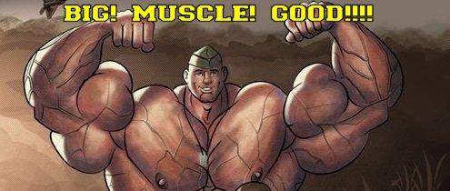 hairy muscle bear bara tumblr