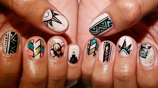 Modern nail art tumblr nails of modern art prinsesfo Choice Image
