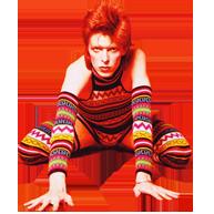 Transparent Bowie