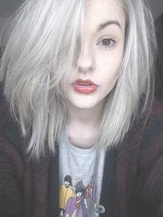 Silver grey hair tumblr