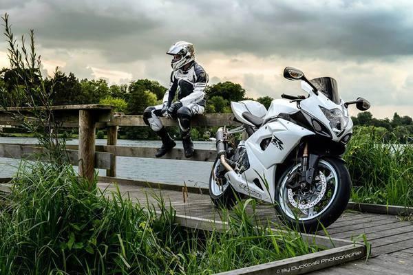 Ktm motorcycle girl