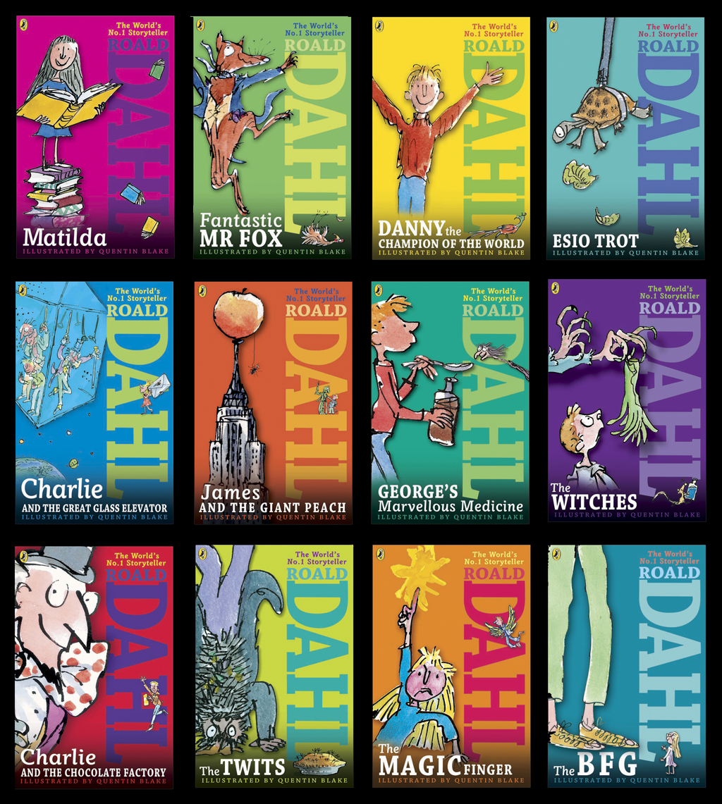 Roald Dahl Book Cover Pictures ~ Watch our off shore walshf banking accounts