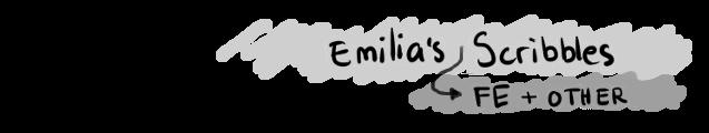 Emilia's Fire Emblem Scribbles
