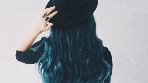 blue hair girls | Tumblr