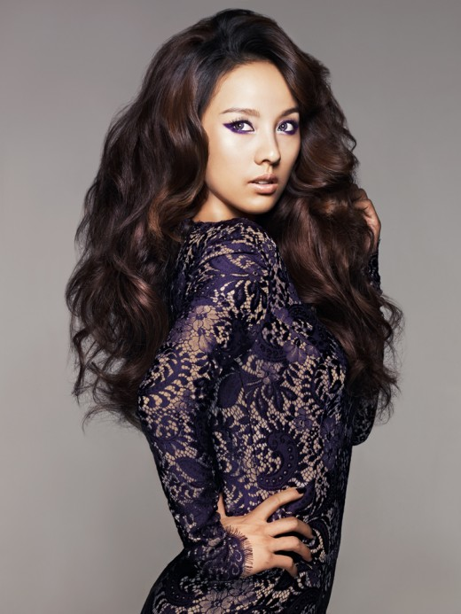 Lee hyori hair brown