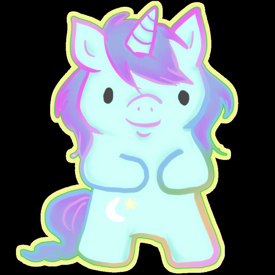 Little Unicorn  Unicorns And Rainbows Tumblr