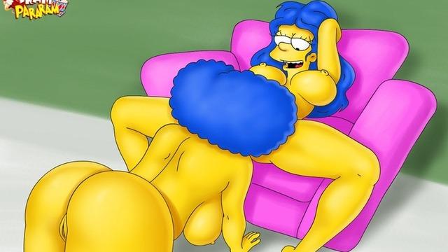 Marge simpson tram pararam lesbian