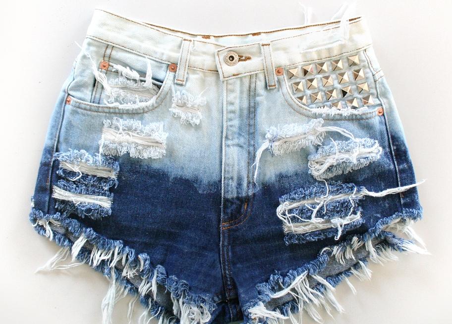 Как сделать шорты из джинс своими руками с дырками