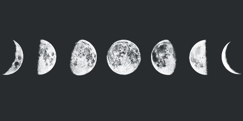 Moon Phases Tumblr Black And White Moon Phases Tumblr Black And