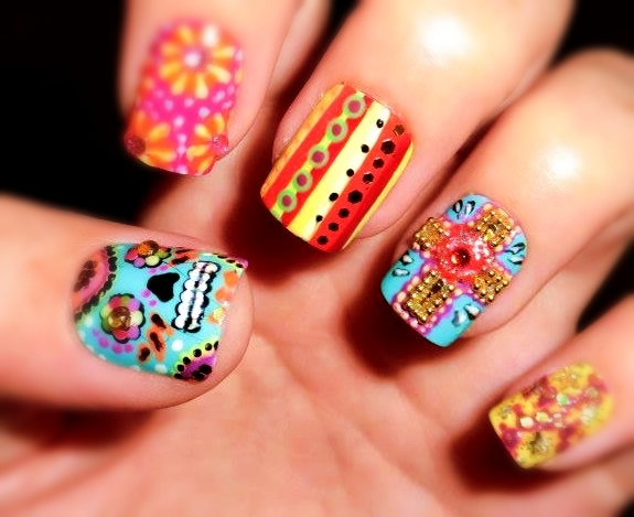 art made on nails www facebook com kickartnails instagram kick art