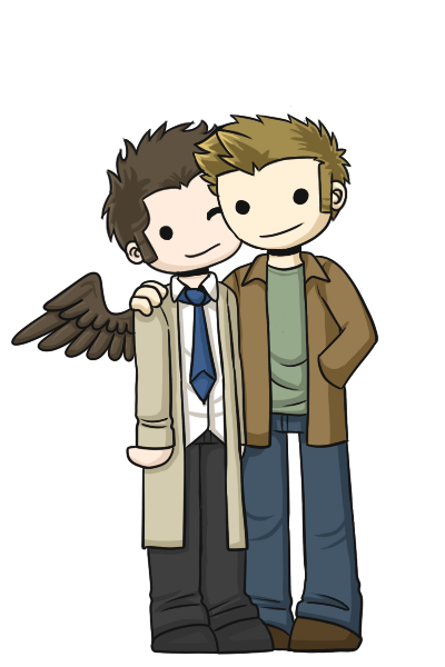 HOW DOES ONE USE THIS WEBSITE Tumblr_static_destiel_by_sevbd-d61fj51