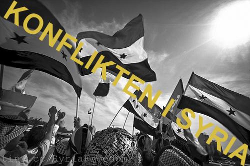 syria konflikten forklart
