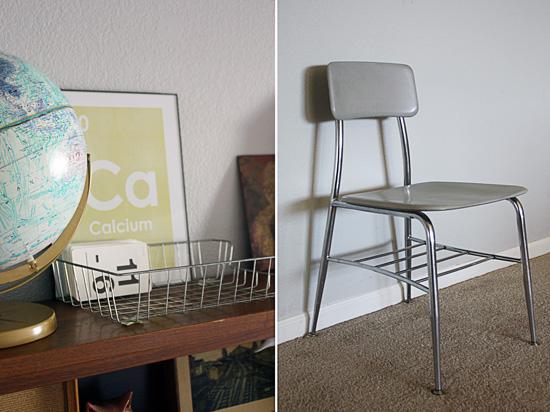 Vintage Classroom Homeschool Chairs Teal Bird Concepts
