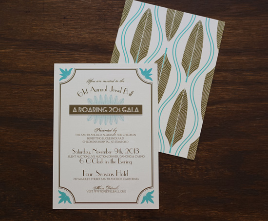 Gatsby Roaring 20s Invitation