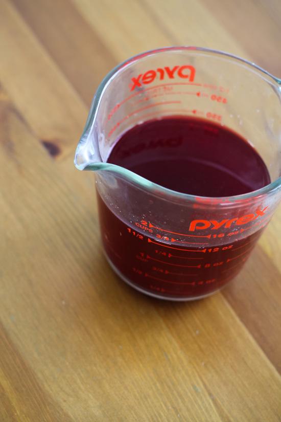 Beet Dye