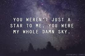 You're Every Star in My Sky