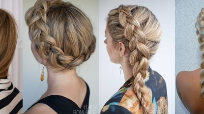 french braid hairstyle | Tumblr