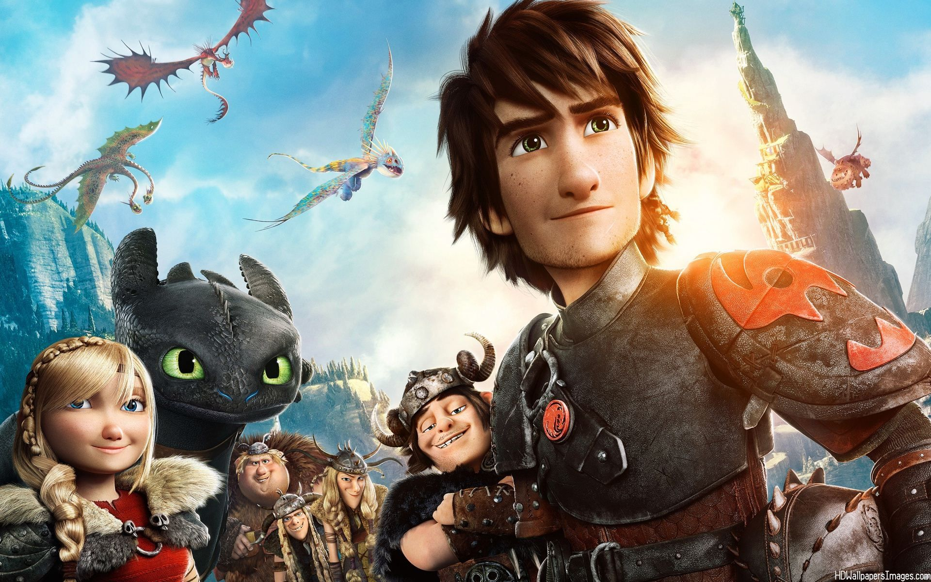 How To Train Your Dragon Love