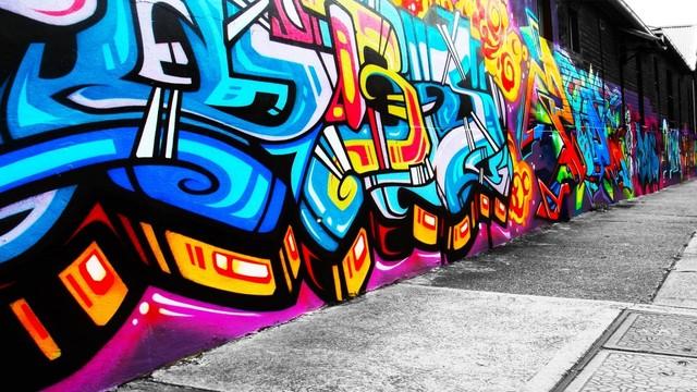 graffitis en santiago