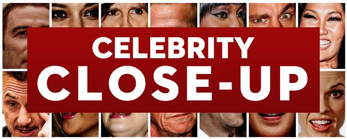 celebrity close-up